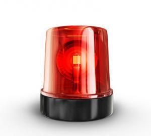 Alarmanlage Rotlicht