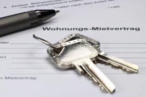 Mietvertrag Wohnung